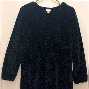 J.Jill Black Chemile Sweater